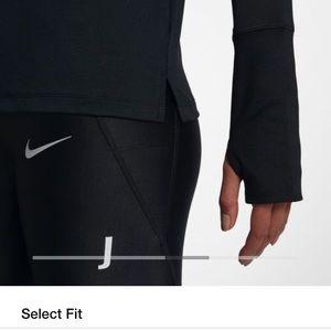 Nike Tops - Nike Dri-Fit Running half-zip Top